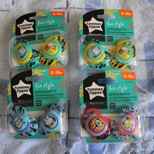 New 2 set pacifiers